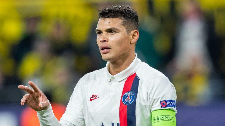 Paris Saint-Germain captain Thiago Silva is leaving the club this summer