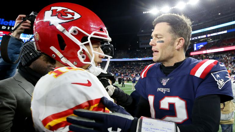 Patrick Mahomes and Tom Brady will meet again after some epic AFC battles