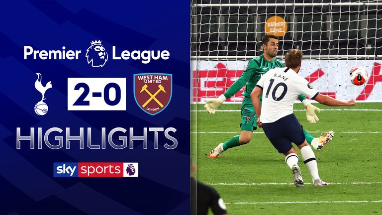 Tottenham Hotspur 2-0 West Ham United