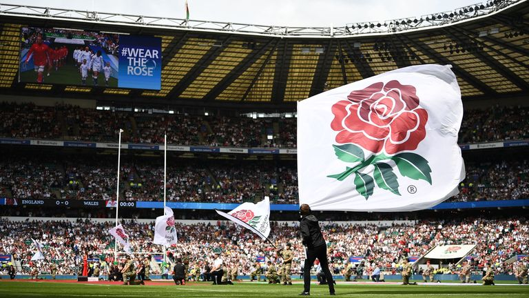 Twickenham has been unable to host England matches since the coronavirus outbreak