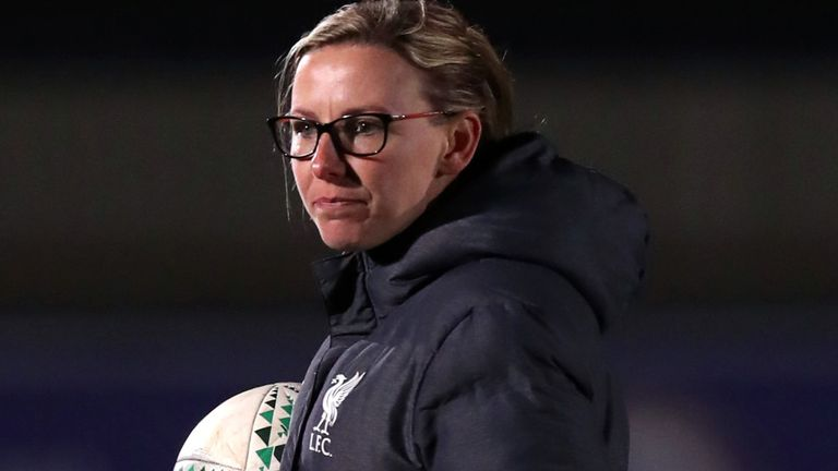 Liverpool manager Vicky Jepson says relegation is a 'difficult pill to swallow'