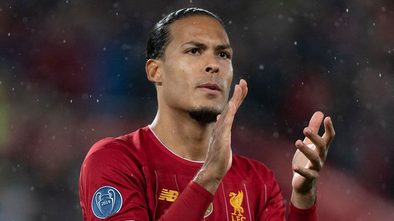 Virgil van Dijk has his sights set on more than one premier League title with Liverpool