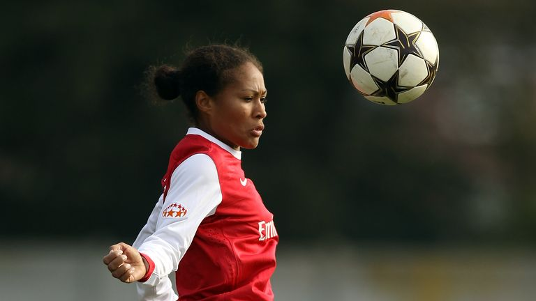 Yankey says she was racially abused by a fan in Spain while playing in the Champions League for Arsenal in 2010