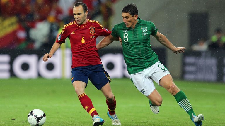 Andrews called the Spain team Ireland faced 'one of the best to play the game'.