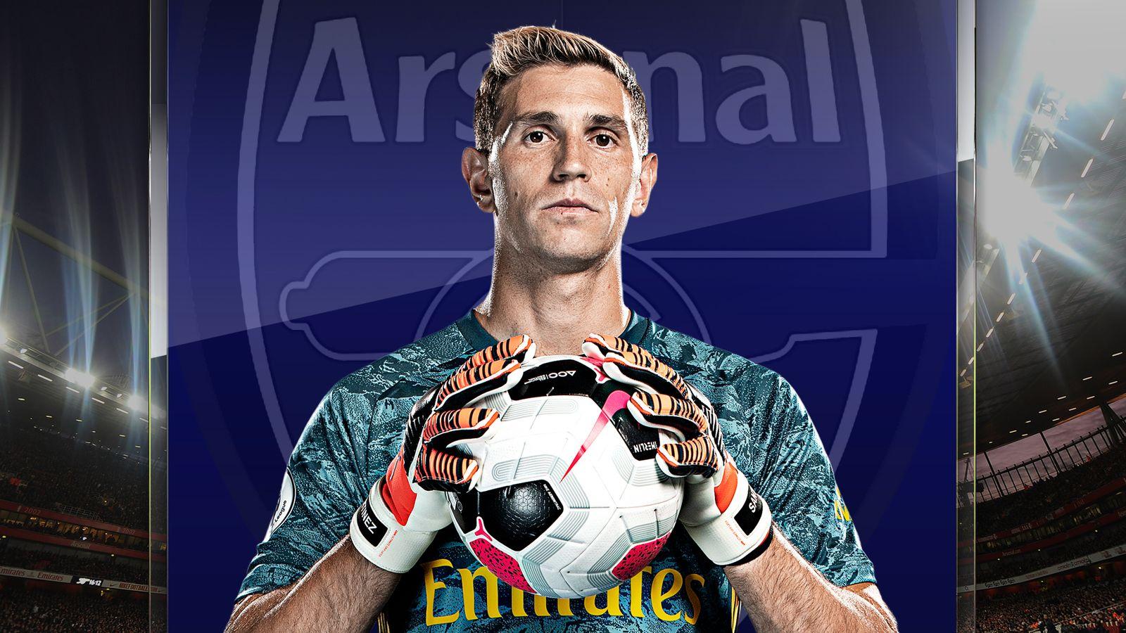 Emiliano Martinez Interview Arsenal Goalkeeper On Seizing His Chance And Impressing Mikel Arteta Football News Sky Sports