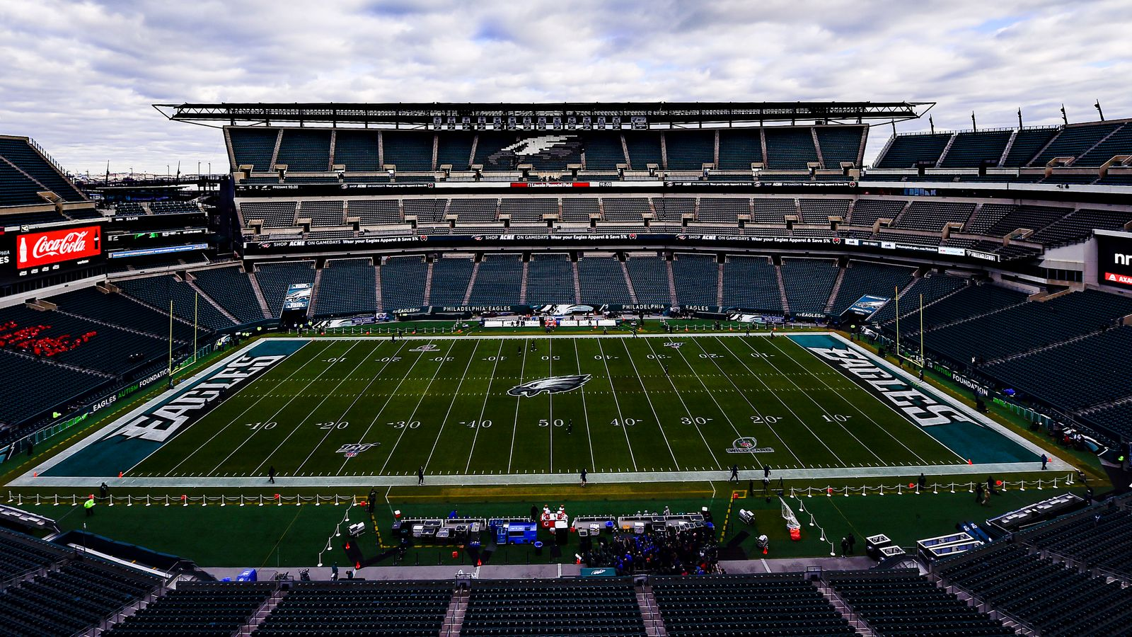 Philadelphia Eagles to play in empty stadiums at home in 2020 season