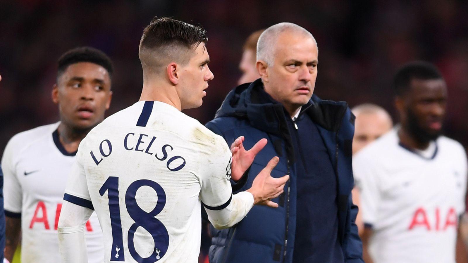 Tottenham boss Jose Mourinho says he 'wouldn't swap' Giovani Lo ...