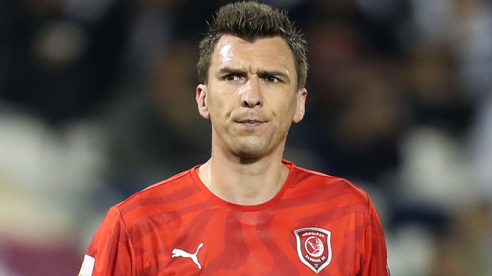 Mario Mandzukic: Former Manchester United target leaves Al-Duhail