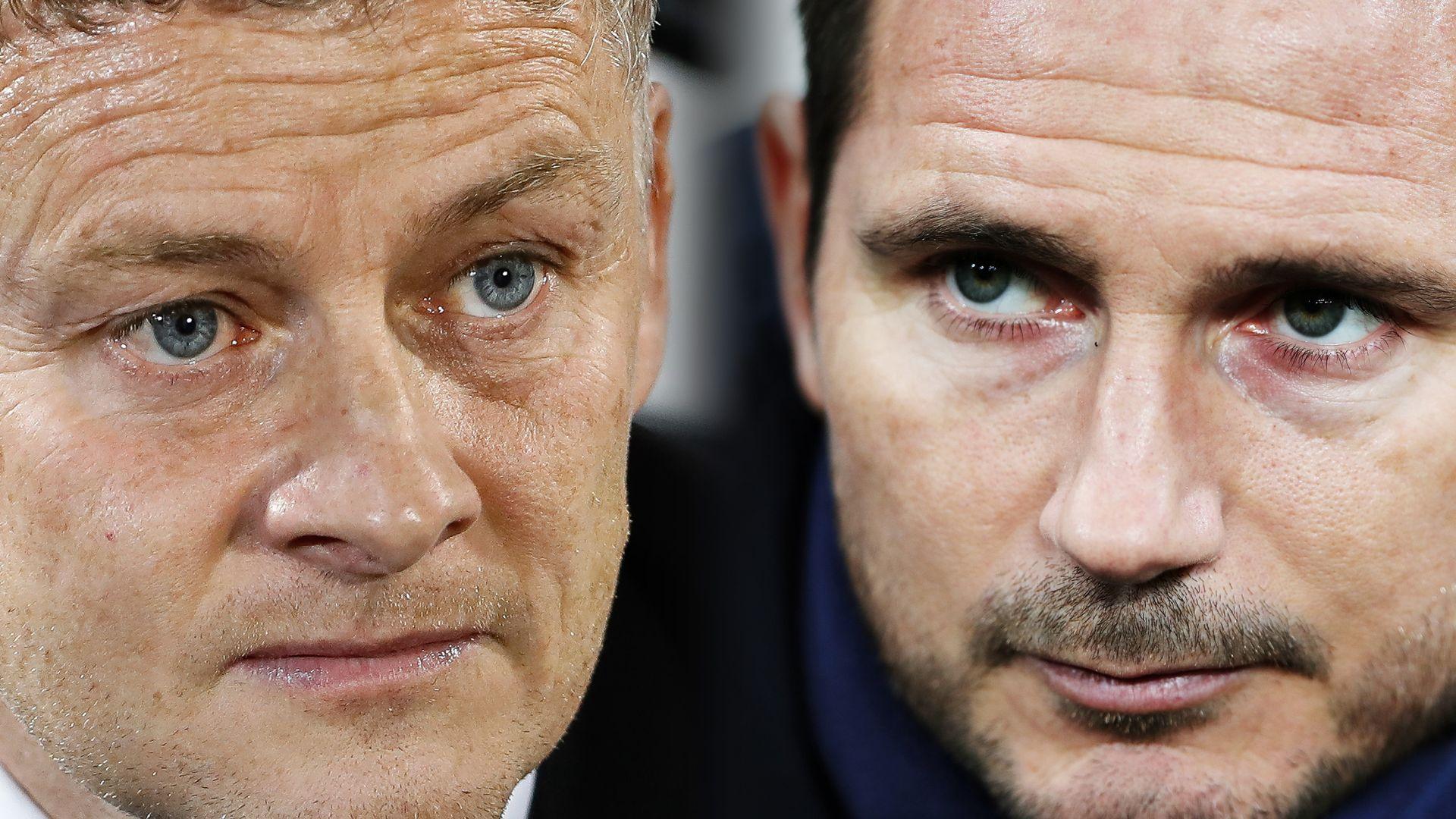 Have Solskjaer and Lampard progressed?