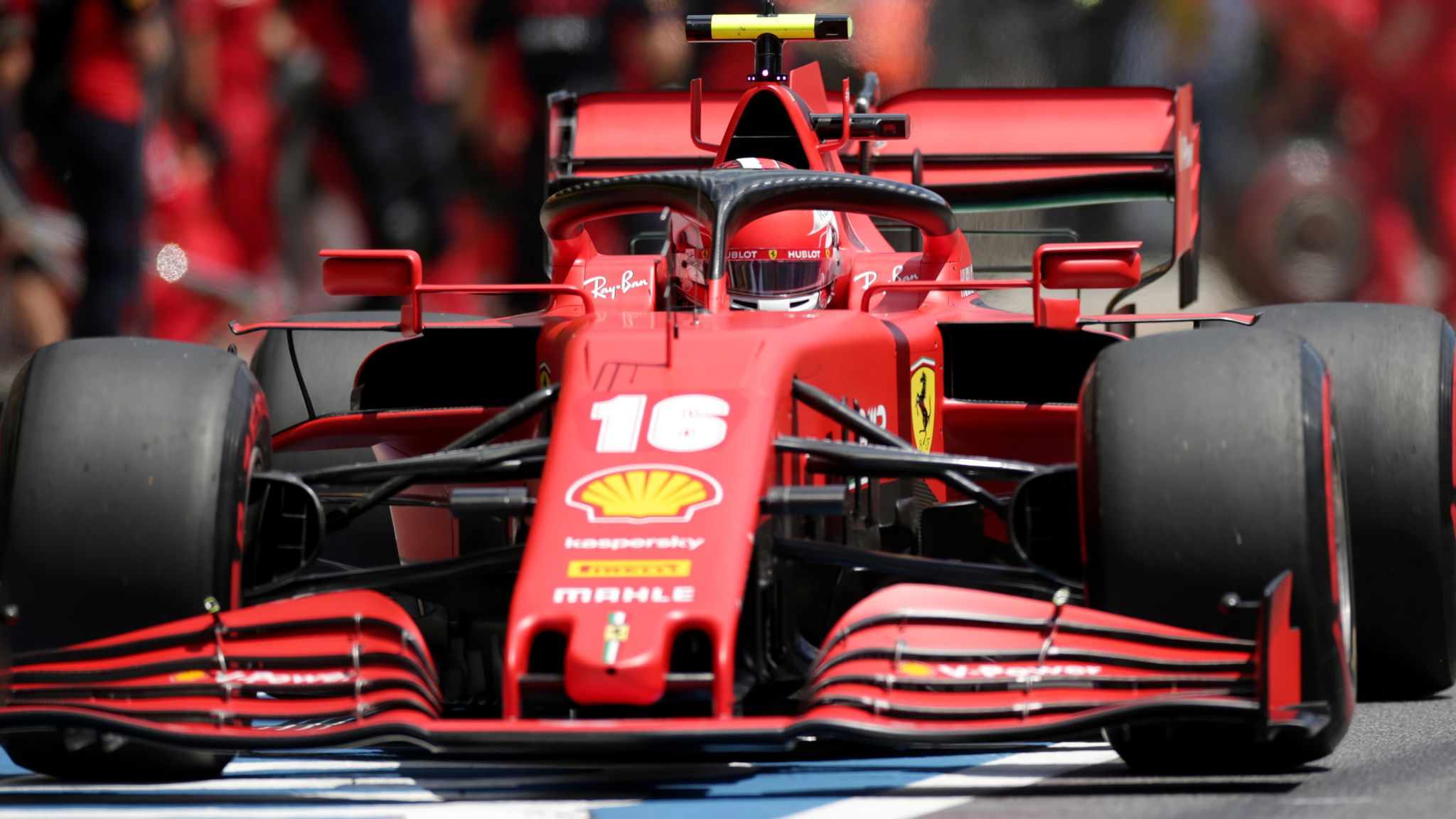 Charles Leclerc Handed Three Place Styrian Gp Penalty For Impeding F1 News