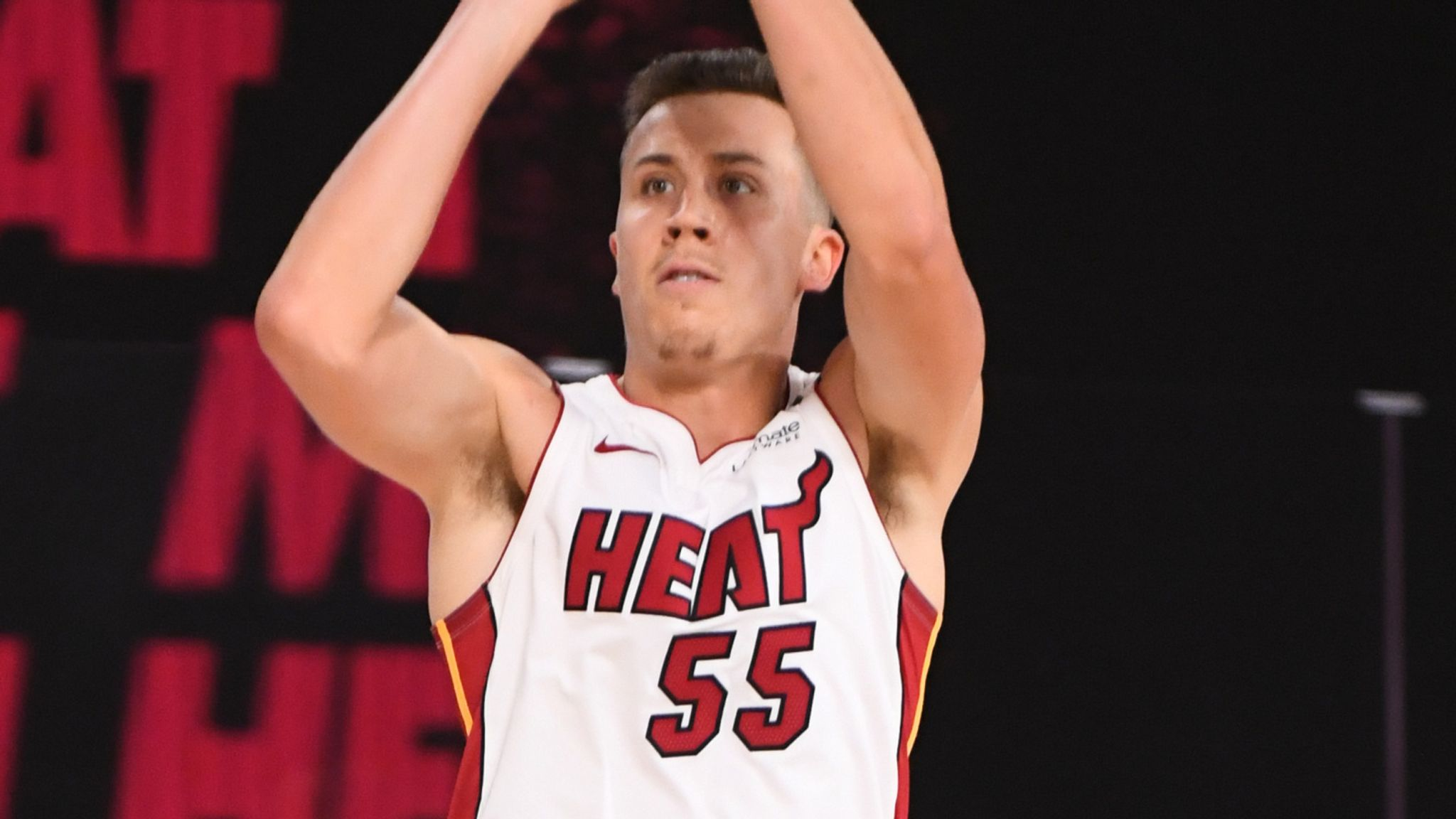 Miami Heat S Duncan Robinson Is A Legitimate Third Scoring Option Says Mo Mooncey Nba News Sky Sports