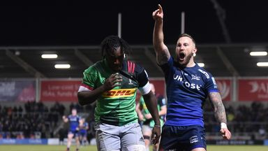 Harlequins and Sale will kick us off again in August
