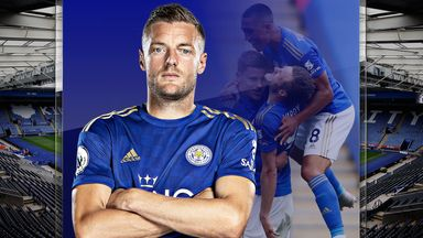 Vardy beats the odds to join 100 club