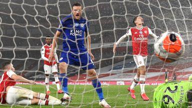 Highlight: Arsenal vs Leicester 1-1