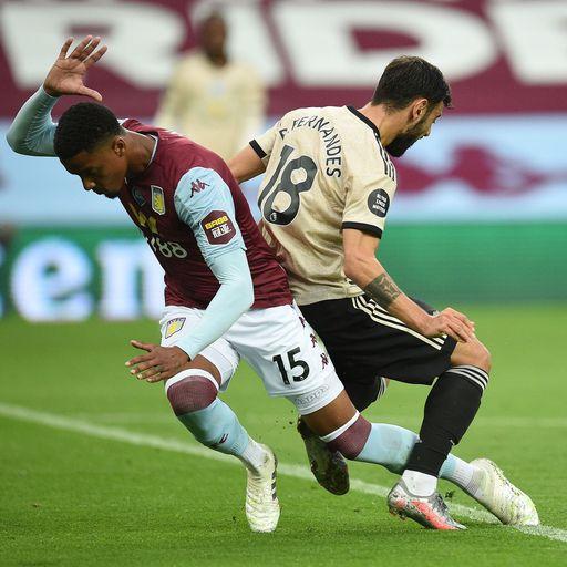 Man Utd equal penalty record; did Bruno foul Konsa?