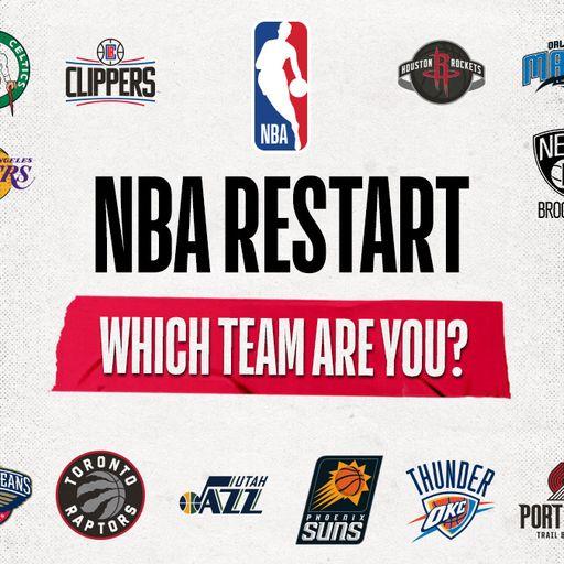 NBA restart: Who should I support?