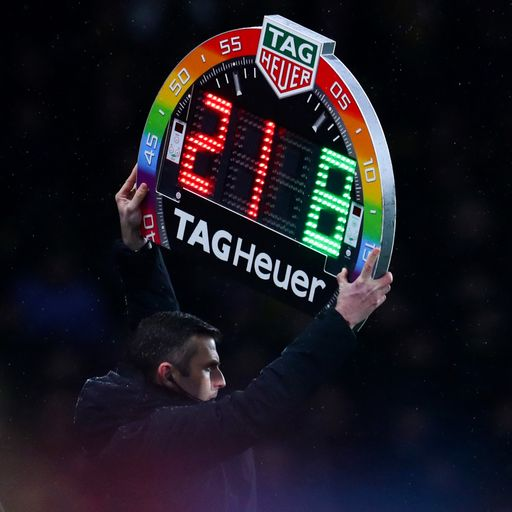IFAB to allow five subs