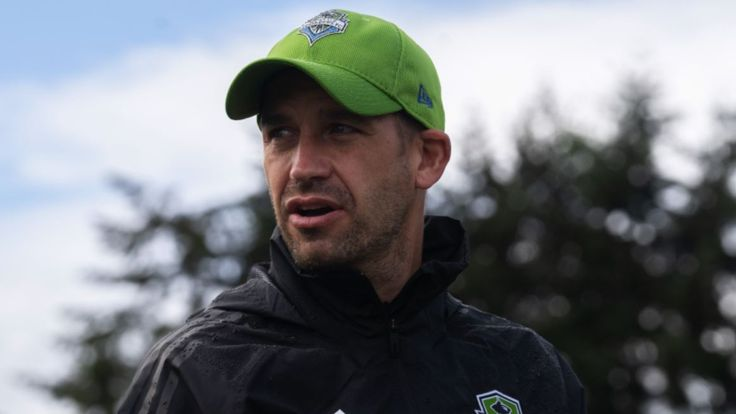 Seattle Sounders' new high performance director and technical advisor Adam Owen [Credit: Seattle Sounders]