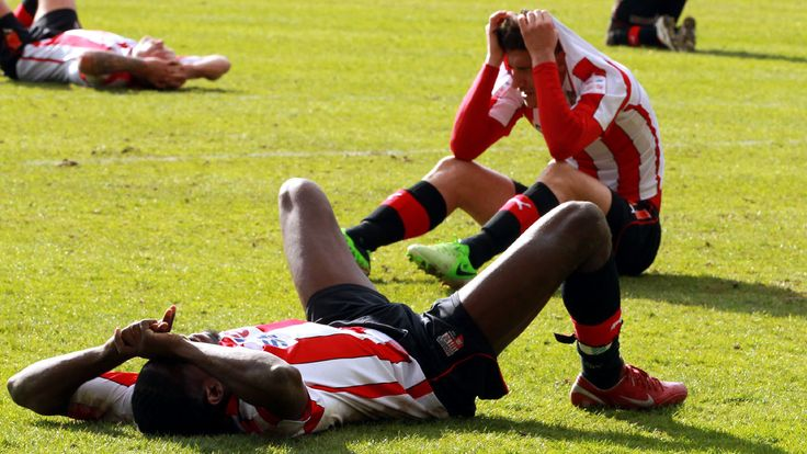 Brentford have lost all eight of their Football League play-off campaigns
