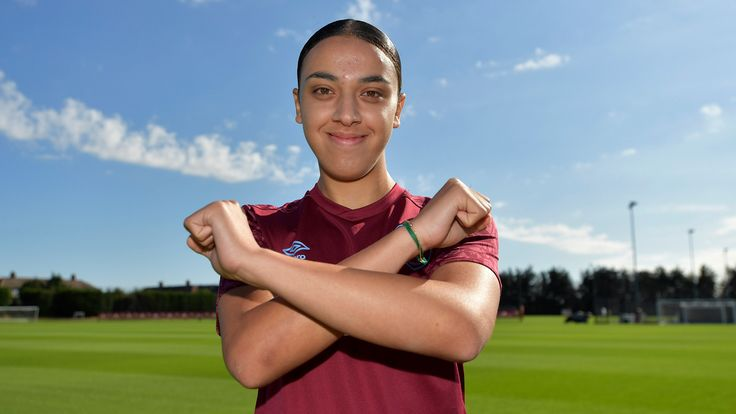West Ham Women's new signing Nor Mustafa [Credit: West Ham] ONLY TO BE USED AFTER ANNOUNCEMENT BY CLUB