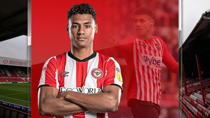 Brentford's Ollie Watkins made his breakthrough as a youngster at Exeter City
