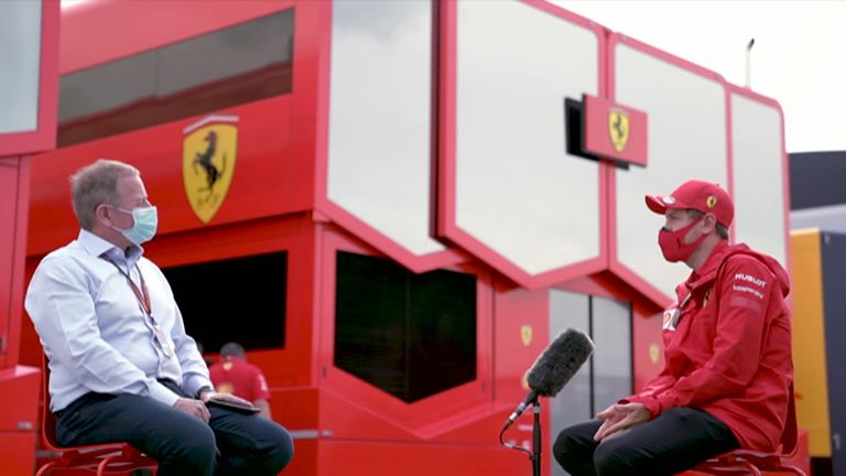 Martin Brundle sat down with four-time World Champion Sebastian Vettel to discuss his thoughts and decisions for 2021.
