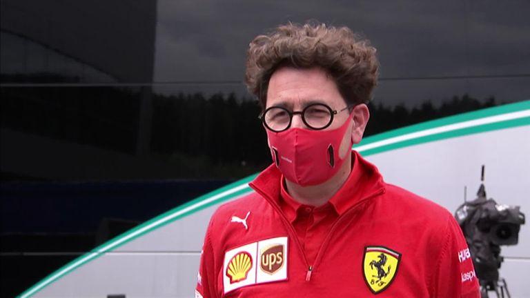 Ferrari team principal Mattia Binotto on the reasoning behind their decision to not offer Sebastian Vettel a 2021 deal - plus, their Austrian GP form.