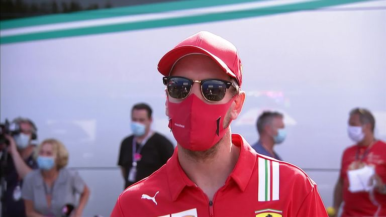 Sebastian Vettel on Ferrari's prospects at the second Austrian race and why he took a knee ahead of last weekend's race