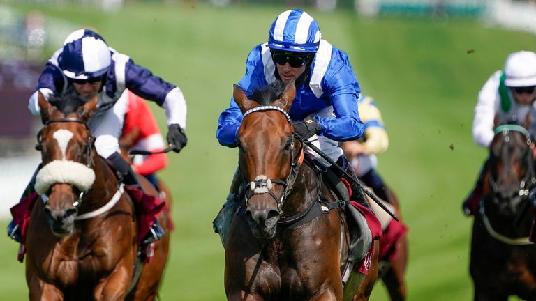 Battaash blitzes his rivals and the clock