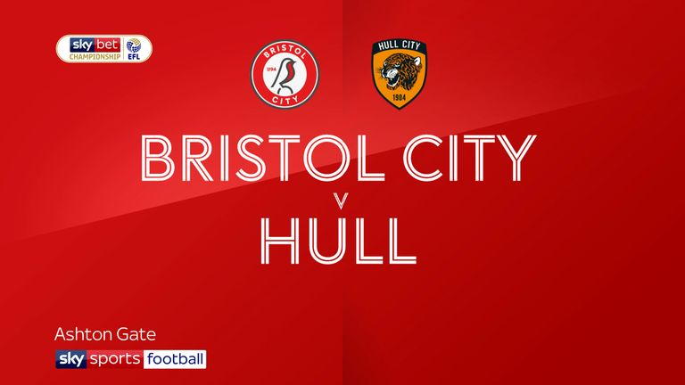 Bristol City v Hull City badge