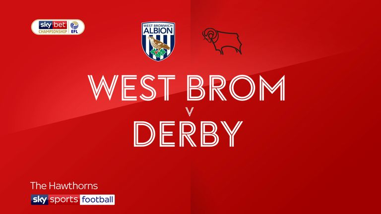 West Brom v Derby Badge