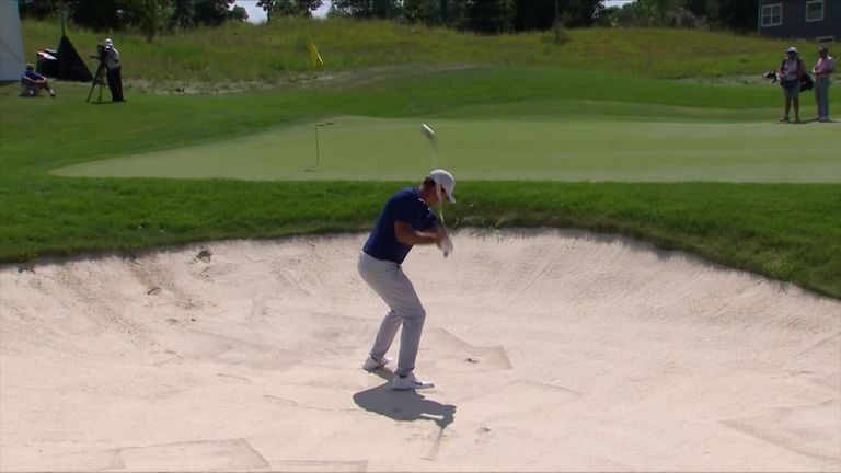 Fairway hole-outs, brilliant bunker play and an unlikely ace all feature in the top-10 shots from the PGA Tour's 3M Open.