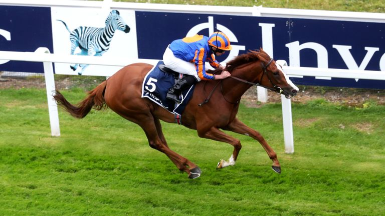 Love and Ryan Moore are clear in the Investec Oaks