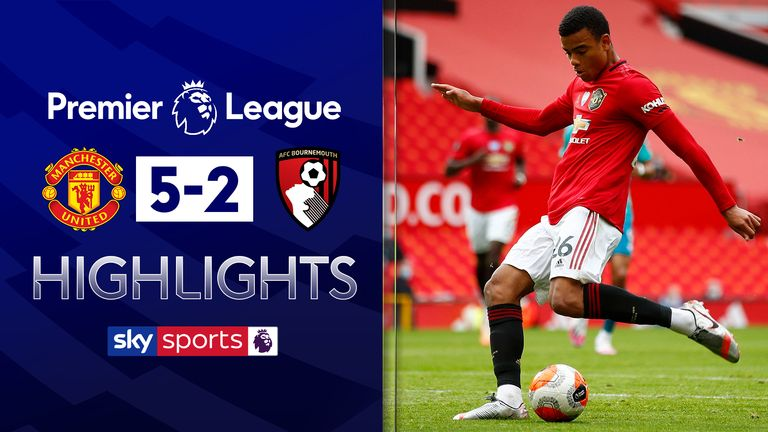 FREE TO WATCH: Highlights from Manchester United's win over Bournemouth