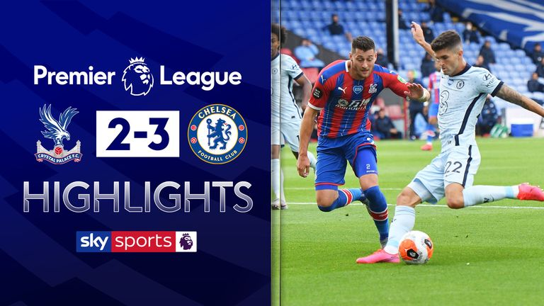 FREE TO WATCH: Highlights from Chelsea's win at Crystal Palace