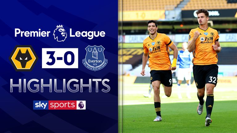 FREE TO WATCH: Highlights from Wolves' win against Everton