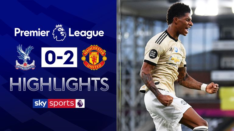 C Palace 0 2 Man Utd Match Report Highlights