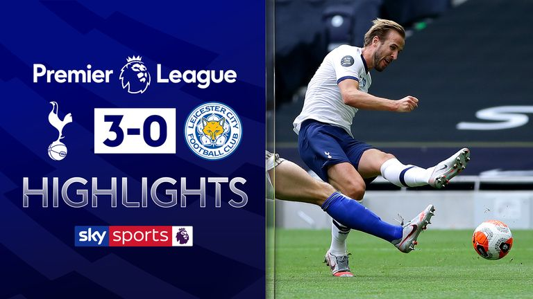 FREE HIGHLIGHTS: Harry Kane dents Leicester CL hopes