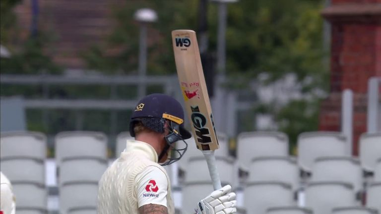 Stokes' half-century in the second innings was his second quickest in Tests