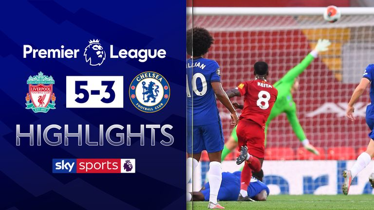 Jamie Carragher was critical of Arrizabalaga during Chelsea's 5-3 defeat at Liverpool - watch goals here