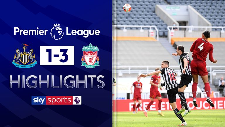 FREE TO WATCH: Highlights from Liverpool's win against Newcastle in the Premier League