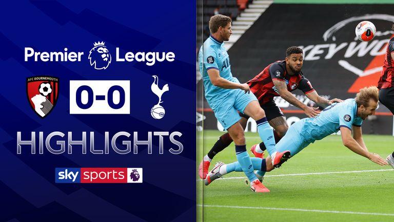 Bournemouth 0:0  Tottenham ( მიმოხილვა)