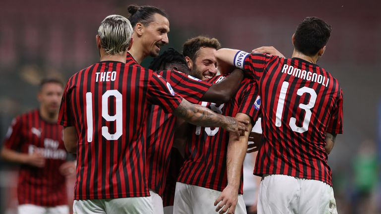 AC Milan 5 - 1 Bologna - Match Report & Highlights
