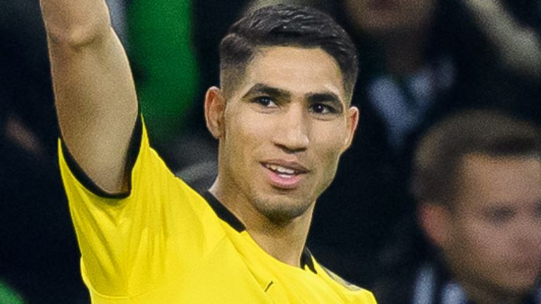 Achraf Hakimi has signed a five-year deal with Inter Milan