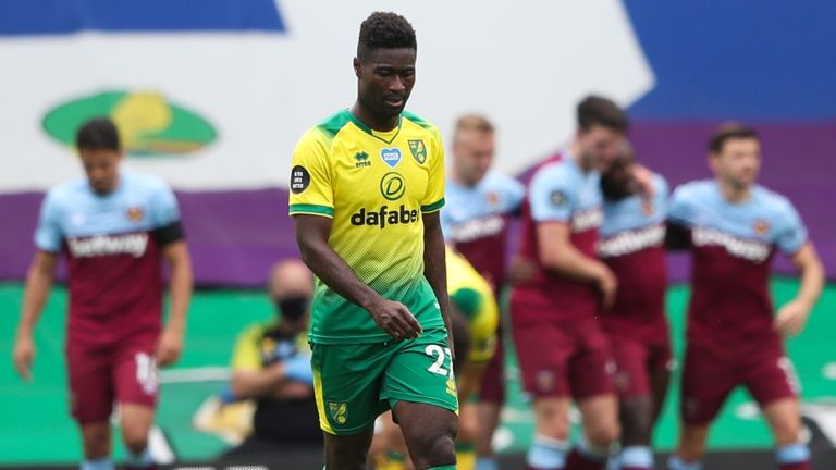 Norwich midfielder Alex Tettey says Farke's options were limited by the weakness of their squad