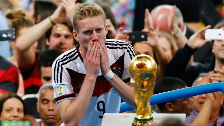 Andre Schurrle has announced his retirement from football