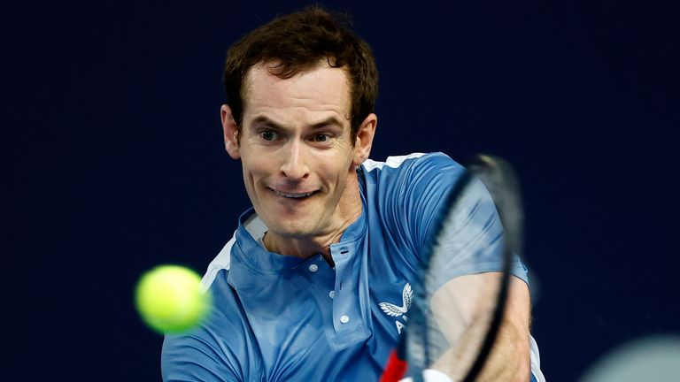 Andy Murray returned to action last month in the Battle of the Brits tournament organised by his brother Jamie