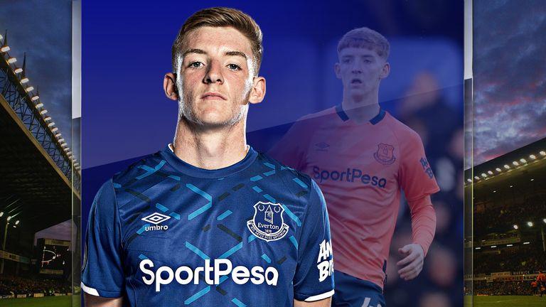 Everton forward Anthony Gordon spoke exclusively to Sky Sports