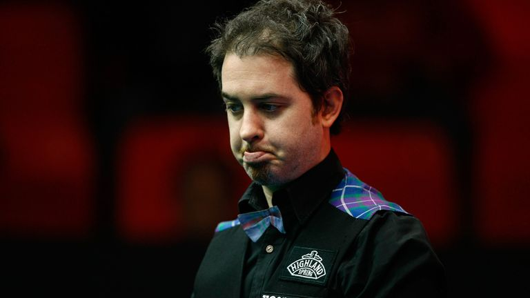 Anthony Hamilton has withdrawn from this year's World Snooker Championship