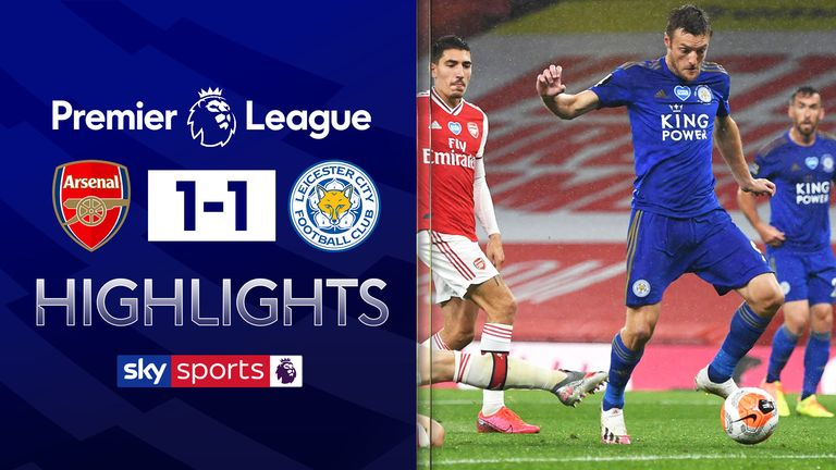 Arsenal 1-1 Leicester City